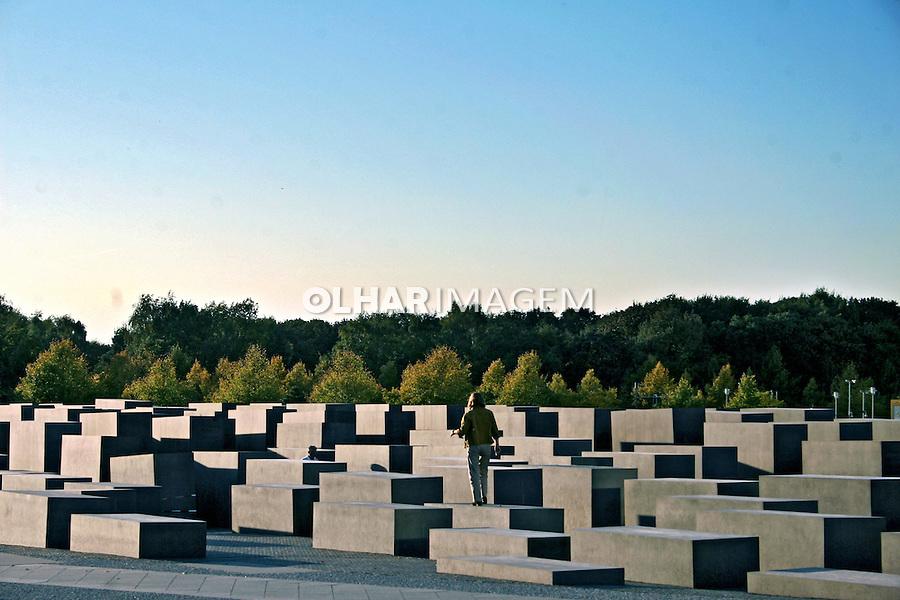 Memorial do holocausto. Berlim. Alemanha. 2007. Foto de Marcio Nel Cimatti.