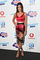 Dakota<br /> in the press room for the Capital Summertime Ball 2018 at Wembley Arena, London<br /> <br /> ©Ash Knotek  D3407  09/06/2018