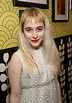 Sophia Anne Caruso backstage at 'Tis The Season Jamie deRoy & Friends Holiday Show' at the Birdland on December 11, 2017 in New York City.