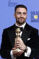 www.acepixs.com<br /> <br /> January 8 2017, LA<br /> <br /> Aaron Taylor-Johnson appeared in the press room during the 74th Annual Golden Globe Awards at The Beverly Hilton Hotel on January 8, 2017 in Beverly Hills, California.<br /> <br /> By Line: Famous/ACE Pictures<br /> <br /> <br /> ACE Pictures Inc<br /> Tel: 6467670430<br /> Email: info@acepixs.com<br /> www.acepixs.com