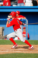 August 2, 2009:  Michael Dabbs of the Williamsport Crosscutters during a game at Dwyer Stadium in Batavia, NY.  Williamsport is the Short-Season Class-A affiliate of the Philadelphia Phillies.  Photo By Mike Janes/Four Seam Images