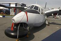- sea patrol aircraft Piaggio P-166DL-3 of the Italian Coastguard....- aereo da sorveglianza marittima Piaggio P-166DL-3 della Guardia Costiera italiana