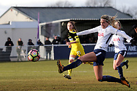 Wendy Martin of Tottenham Ladies during Tottenham Hotspur Ladies vs Oxford United Women, FA Women's Super League FA WSL2 Football at Theobalds Lane on 11th February 2018