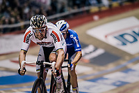 Madison World Champion Theo Reinhardt (DEU)<br /> <br /> zesdaagse Gent 2019 - 2019 Ghent 6 (BEL)<br /> day 2<br /> <br /> ©kramon