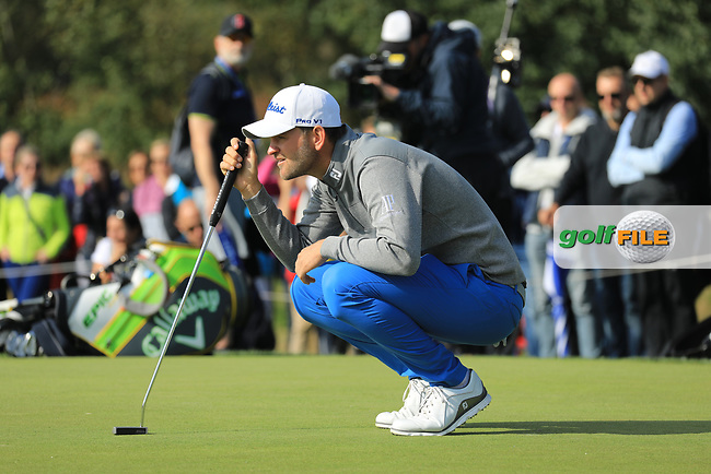 Bernd Wiesberger (AUT) during the second round of the Porsche European Open , Green Eagle Golf Club, Hamburg, Germany. 06/09/2019<br /> Picture: Golffile   Phil Inglis<br /> <br /> <br /> All photo usage must carry mandatory copyright credit (© Golffile   Phil Inglis)
