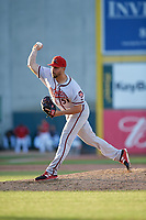 Richmond Flying Squirrels pitcher Tyler Cyr (51) during an Eastern League game against the Erie SeaWolves on August 28, 2019 at UPMC Park in Erie, Pennsylvania.  Richmond defeated Erie 6-4 in the first game of a doubleheader.  (Mike Janes/Four Seam Images)