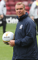 Former Rangers goalkeeper and Everton coach Chris Woods in the Motherwell v Everton friendly match at Fir Park, Motherwell on 21.7.12 for Steven Hammell's Testimonial.