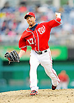 1 May 2011: Washington Nationals pitcher Sean Burnett on the mound against the San Francisco Giants at Nationals Park in Washington, District of Columbia. The Nationals defeated the Giants 5-2. Mandatory Credit: Ed Wolfstein Photo