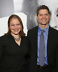 Rita Pietropinto and Tom Kitt attends the Broadway Opening Night Performance of 'Present Laughter' at St. James Theatreon April 5, 2017 in New York City