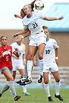 24 August 2014: North Carolina's Cameron Castleberry. The University of North Carolina Tar Heels hosted the Ohio State University Buckeyes at Fetzer Field in Chapel Hill, NC in a 2014 NCAA Division I Women's Soccer match. UNC won the game 1-0.