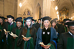 Duke University School of Medicine Class of 2017 Hippocratic Oath Ceremony at Duke Chapel.