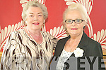 FUN: Vivian Sheehy and Dolla Webster enjoyed the Fashion Show held by the Failte Probus Club on Wednesday in the Ballyroe Hotel.