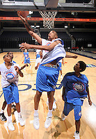 PF Kevin Jones (Mount Vernon, NY / Mount Vernon) shoots the ball during the NBA Top 100 Camp held Friday June 22, 2007 at the John Paul Jones arena in Charlottesville, Va. (Photo/Andrew Shurtleff)