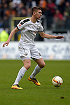 GER - Sandhausen, Germany, March 19: During the 2. Bundesliga soccer match between SV Sandhausen (white) and FC ST. Pauli (grey) on March 19, 2016 at Hardtwaldstadion in Sandhausen, Germany. (Photo by Dirk Markgraf / www.265-images.com) *** Local caption *** Philipp Ziereis #4 of FC St. Pauli