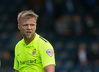 Nicky Featherstone of Hartlepool United during the Sky Bet League 2 match between Wycombe Wanderers and Hartlepool United at Adams Park, High Wycombe, England on 5 September 2015. Photo by Andy Rowland.