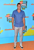SANTA MONICA, USA. July 11, 2019: Rob Gronkowski at Nickelodeon's Kids' Choice Sports Awards 2019 at Barker Hangar.<br /> Picture: Paul Smith/Featureflash