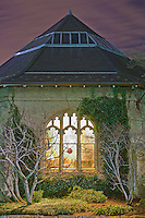 "Building at the National Cathedral at night, Washington D.C. (45"" maximum)"