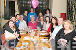 BIRTHDAY GREETINGS: Mary O'Connell, Kenmare, who celebrated her 80th birthday with family and friends in No.35 restaurant, Kenmare on Saturday night.