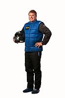 Feb 6, 2019; Pomona, CA, USA; NHRA pro stock driver Val Smeland poses for a portrait during NHRA Media Day at the NHRA Museum. Mandatory Credit: Mark J. Rebilas-USA TODAY Sports