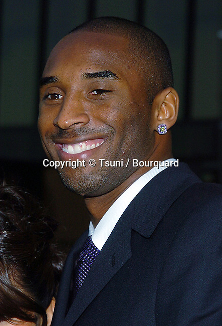 Kobe Bryant arriving at the 32th Annual American Music Awards at the Shrine Auditorium in Los Angeles. November 14, 2004.