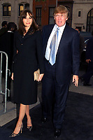 "MELANIA KNAUSS DONALD TRUMP 2002<br /> PREMIERE OF ""HOLLYWOOD ENDING"" AT THE CHELSEA WEST THEATRE IN NEW YORK CITY<br /> Photo By John Barrett/PHOTOlink"