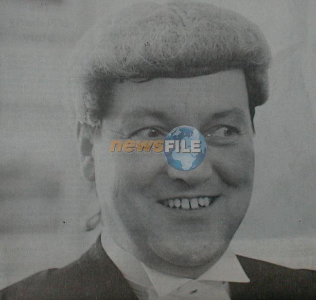 Mr Justice Cyril Kelly.Pic Fran Caffrey / Newsfile.