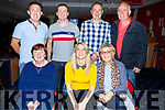 Enjoying the night out at the Kingdom Greyhound Track on Friday night.  <br /> Seated l-r, Lil and Norma Kelly and Joan O&rsquo;Connor,<br /> Back l-r, Noel O&rsquo;Connor, Jason and Danny Kelly and Tom O&rsquo;Connor. (All from Ballydesmond, Co Cork)