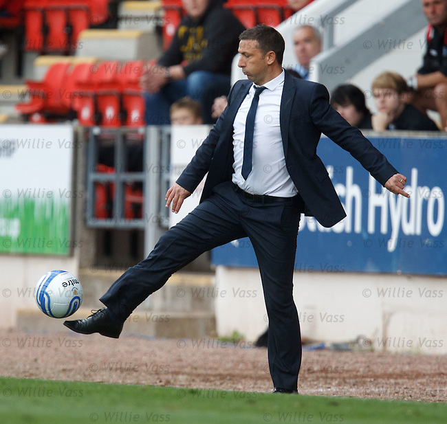 Derek McInnes volleys the match ball back into play