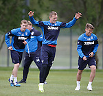 270515 Rangers training
