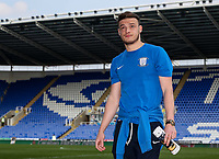 Preston North End's Brandon Barker pictured before the match<br /> <br /> Photographer Andrew Kearns/CameraSport<br /> <br /> The EFL Sky Bet Championship - Reading v Preston North End - Saturday 30th March 2019 - Madejski Stadium - Reading<br /> <br /> World Copyright © 2019 CameraSport. All rights reserved. 43 Linden Ave. Countesthorpe. Leicester. England. LE8 5PG - Tel: +44 (0) 116 277 4147 - admin@camerasport.com - www.camerasport.com