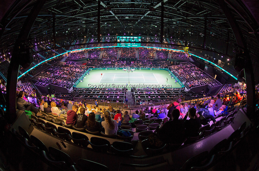 Februari 11, 2015, Netherlands, Rotterdam, Ahoy, ABN AMRO World Tennis Tournament, Andy Murray (GBR) <br /> Photo: Tennisimages/Henk Koster