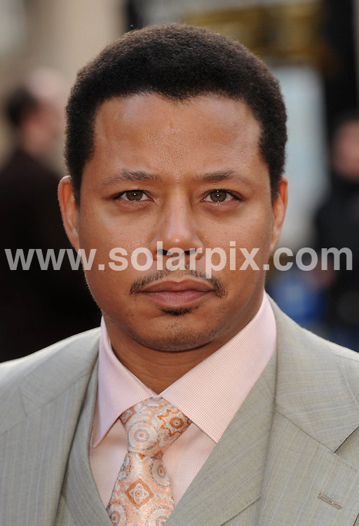**ALL ROUND PICTURES FROM SOLARPIX.COM**.**WORLDWIDE SYNDICATION RIGHTS**.The Red carpet arrivals at the premiere of Iron Man held at the Odeon Leicester Square in London..This pic:Terrence Howard.JOB REF:6251-SSD     DATE:24_04_08.**MUST CREDIT SOLARPIX.COM OR DOUBLE FEE WILL BE CHARGED* *UNDER NO CIRCUMSTANCES IS THIS IMAGE TO BE REPRODUCED FOR ANY ONLINE EDITION WITHOUT PRIOR PERMISSION*