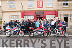 Motor Cyclists from the North Kerry area pictured in Duagh prior to their departure on a poker run in aid of the Children's Hospital, Crumblin on Saturday last.