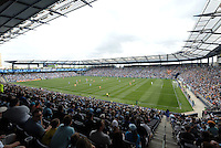 Sporting Park ..Sporting Kansas City and Houston Dynamo played to a 1-1 tie at Sporting Park, Kansas City, Kansas.