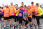David Hughes, Mike Brosnan, Betty Brosnan, Christine Brosnan, Giles Hoffmann, Rose Brosnan, Lucy Fenton, Arlene Mahoney, Paul Hickey and Sinead Deutrom (from Tralee) at the Dingle Marathon on Saturday.