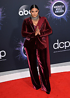 LOS ANGELES, USA. November 25, 2019: Raja Kumari at the 2019 American Music Awards at the Microsoft Theatre LA Live.<br /> Picture: Paul Smith/Featureflash