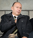 16/10/2010   Copyright  Pic : James Stewart.sct_jsp025_stirling_v_dundee  .:: ADMINISTRATOR BRYAN JACKSON TAKES HIS SEAT IN THE STAND ::  .James Stewart Photography 19 Carronlea Drive, Falkirk. FK2 8DN      Vat Reg No. 607 6932 25.Telephone      : +44 (0)1324 570291 .Mobile              : +44 (0)7721 416997.E-mail  :  jim@jspa.co.uk.If you require further information then contact Jim Stewart on any of the numbers above.........