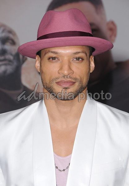 "13 December  2017 - Westwood, California - Cleo Anthony. Netflix's ""Bright"" Los Angeles Premiere held at Regency Village Theatre in Westwood. Photo Credit: Birdie Thompson/AdMedia"