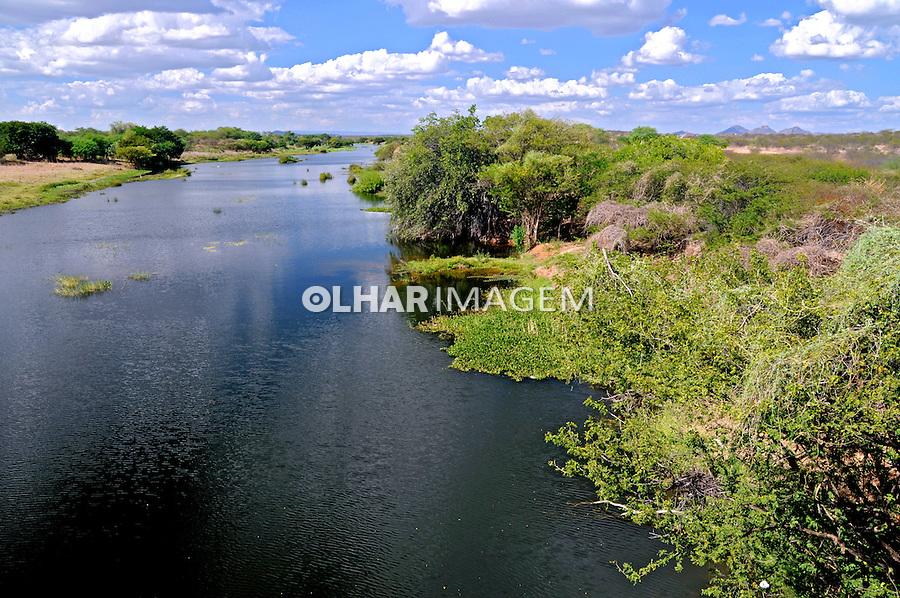 Rio Sabigi em Caicó. Rio Grande do Norte. 2009. Foto de Zig Koch.