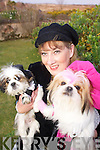 SMELLING SWEET: Amber Ashe, Glenbeigh is planning.to clean up dogs around the county with a new.Mobile Dog Wash and Grooming Service.