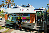 K Manna, Korean BBQ Grill, Gourmet Food Truck, Mid Wilshire, Los Angeles CA. Miracle Mile district.