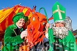 St Patrick has banished the Snakes now its time for the Dragons, Grainne Eccles and Morgan O'Sullivan are preparing for a colourful St Patrick parade in Killorglin this year