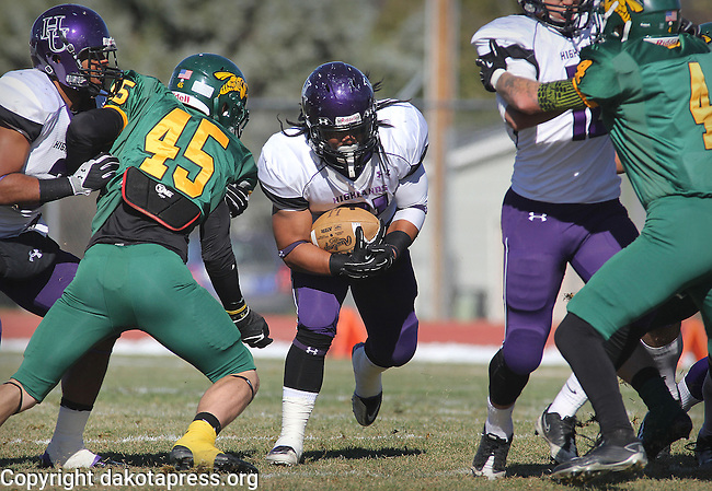 New Mexico Highlands At Black Hills State College Football