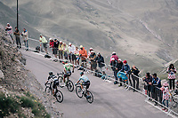 up the highest point in the 2017 TdF: The Galibier (HC/2642m/17.7km/6.9%)<br /> <br /> 104th Tour de France 2017<br /> Stage 17 - La Mure &rsaquo; Serre-Chevalier (183km)