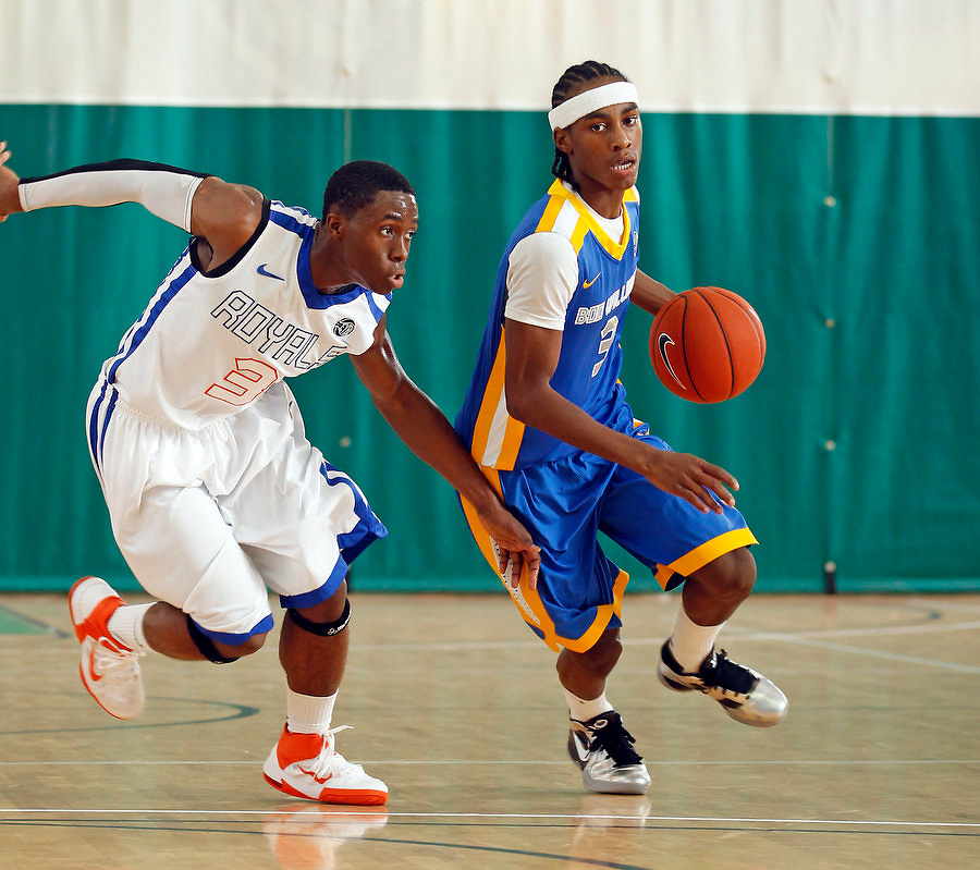 April 9, 2011 - Hampton, VA. USA; Anthony Barber participates in the 2011 Elite Youth Basketball League at the Boo Williams Sports Complex. Photo/Andrew Shurtleff