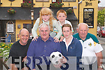 FOOTBALL: Bill Kirby of Kirby's Brogue Inn and Kirbys Lanterns Hotel, Tarbert, announcing details.of his sponsorship of the Kerry Ladies Senior and Intermediate Football teams for 2007, in Tralee on.Friday evening. Front l-r: Paddy White, Bill Kirby, Eimear Foley and Gerry O'Mahony (chairman of.Kerry Ladies Football) Back l-r: Jennifer and Thomas White.