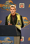 16 January 2004: Chad Marshall was taken with the second overall pick by the Columbus Crew. The Major League Soccer SuperDraft was held at the Charlotte Convention Center in Charlotte, NC as part of the annual National Soccer Coaches Association of America convention..
