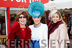 Enjoying Ladies Day at Listowel Races on Friday last, were l-r: Mary O'Donnell (Tralee), Lisa Carmody (Listowel) and Aoife Harrison (Dublin).