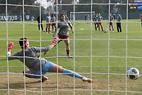 Stanford, CA: November 18th, 2018. Stanford Women with a 1-0 victory over Wisconsin in the NCAA playoffs at Cagan Stadium.