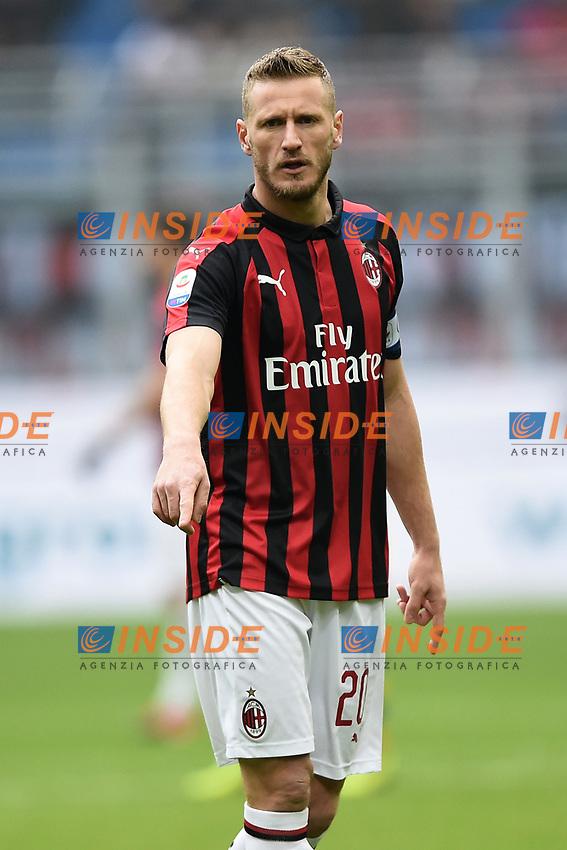 Ignazio Abate <br /> Milano 2-12-2018 Stadio San Siro Football Calcio Serie A 2018/2019 AC Milan - Parma Foto Image Sport / Insidefoto